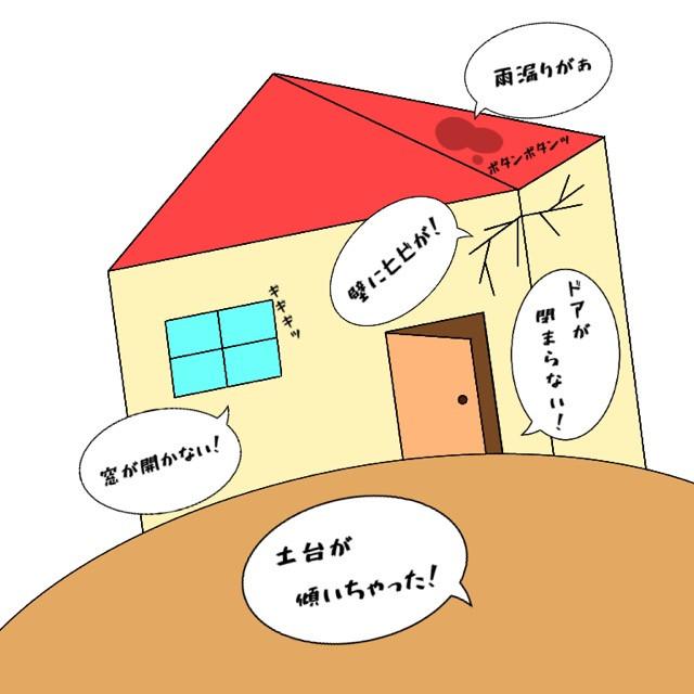 骨盤の歪みは家に例えると土台が傾いたのと同じこと。様々な症状が起こります。