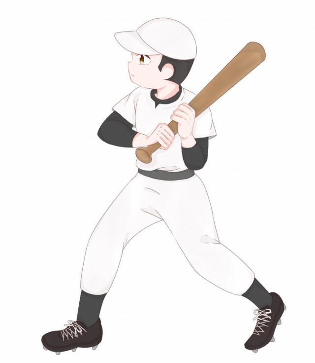 野球バットスイング